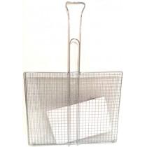 Решетка для гриля, барбекю прямоугольная 34*40см №2057