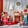 Новогоднее украшение любых помещений своими руками