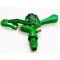 Секторный пластиковый ороситель, два выхода, латунные форсунки (SD-110)
