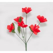 Букет цветов мини 35 см (№ Д-2)