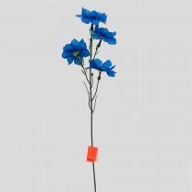 Василек, 4 цветка на ножке 45 см (№1-9)