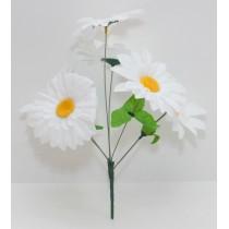 Букет ромашек белых 30 см (SD-20)