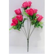 Букет розы в бутоне с добавками 36 см (SD-21)
