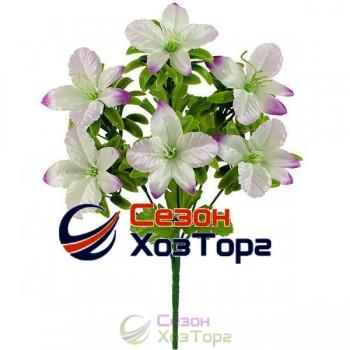 Букет из атласных Орхидей 32см (№690)