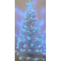 Ель Белая 1,5 м светодиодная оптоволоконная (6419-7-150)