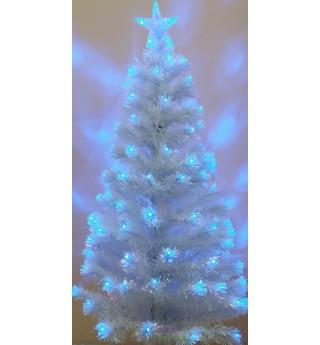 Ель Белая 0,6 м светодиодная оптоволоконная (6419-7-60)