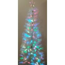 Ель Блестяще-белая 0,6 м оптоволоконная светодиодная (6419-8-60)