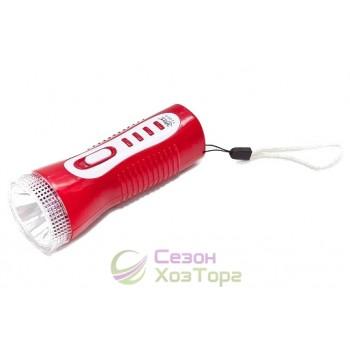 Фонарь Яджа Yajia 0918 1 LED (выдвижная вилка)