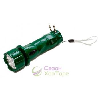 Фонарь Яджа Yajia 0912 1 LED (выдвижная вилка)