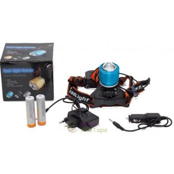 Налобный фонарь ZOOM Headlamp (лоб-259)