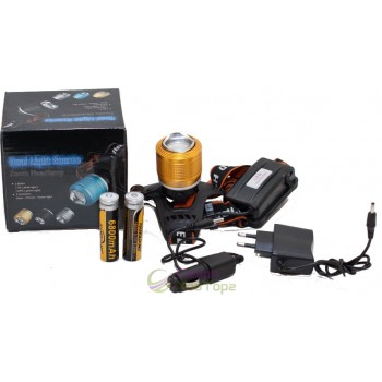 Налобный фонарь ZOOM Headlamp (лоб-260)