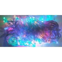 Гирлянда электрическая LED 100, мульти, прозрачный провод (SH127)