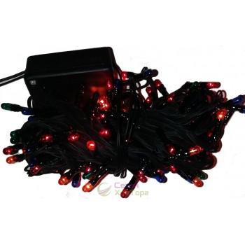 Гирлянда электрическая 100 лампочек, 8 функций, 4 м (SH124)