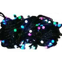 Гирлянда электрическая LED 100, 4 цвета, 8 функций (SH131)
