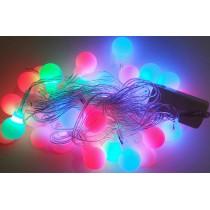 """Гирлянда электрическая """"Фигурки ассорти"""" LED 28, светодиодная, прозрачный провод (SH144)"""