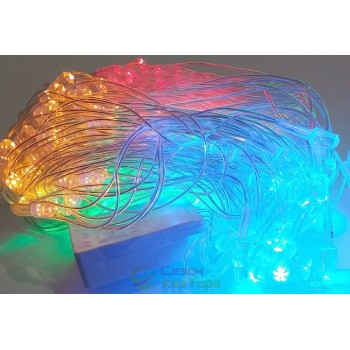 Гирлянда-сетка светодиодная LED 150, 5мх0,6м (SH147)