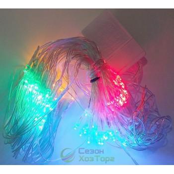Гирлянда-штора светодиодная LED 100, 2мх0,5м (SH148)