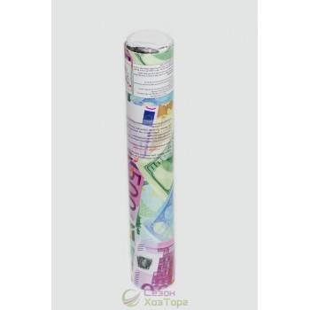 """Хлопушка пневматическая """"Евро+Доллар"""", 30 см (1271D-30ED)"""
