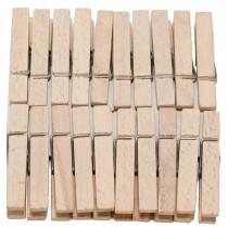 Прищепка бельевая деревянная 20шт