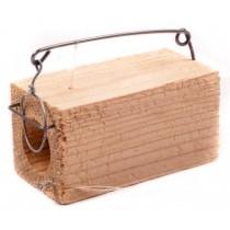 Мышеловка-норка деревянная (одно отверстие)