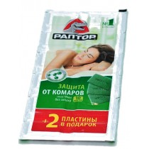 Пластины от комаров РАПТОР (упаковка 12 таблеток)