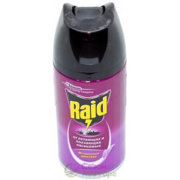 Аэрозоль RAID против летающих и ползающих насекомых 300 мл (Лаванда)