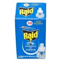 Жидкость от комаров RAID на 30 ночей
