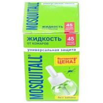"""Жидкость от комаров MOSQUITALL на 45 ночей """"Универсальная защита"""""""