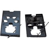 Мышеловка металлическая 12х6,5 см (черная)