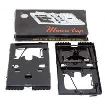 Мышеловка металлическая 16х9см (черная)