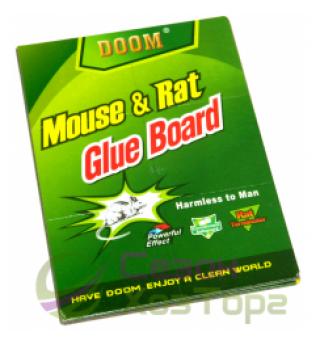 Клеевая ловушка от мышей и крыс DOOM