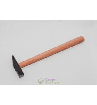 Молоток 100г с деревянной ручкой