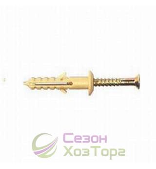 Дюбель быстрого монтажа 6х40 мм гриб (упаковка 100 шт)
