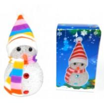 """Новогодняя фигурка """"Снеговик"""" с подсветкой 10см (SH158)"""