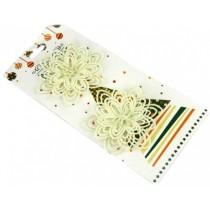 """Новогоднее украшение """"Цветок Ромашка"""", пластик, набор 2 шт (SH173)"""