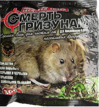Смерть грызунам Зерно зеленое 300 г