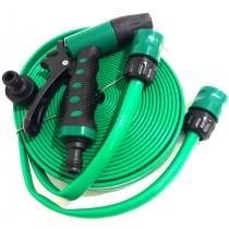 Шланг для полива 15м/3х-слойный/распылитель/2 коннектора/упаковка