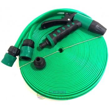 Шланг для полива 30м/3х-слойный/распылитель/2 коннектора/упаковка