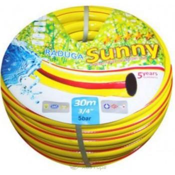 """Шланг Радуга желтая Sunny 3/4"""" (20 м, 30м, 50м)"""