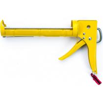 Пистолет для силикона полузакрытый стальной (№600303)
