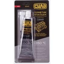 Герметик прокладок высокотемпературный +350ºС, 85г, серый (№951431)