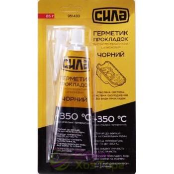 Герметик прокладок высокотемпературный +350ºС, 85г, черный (№951433)