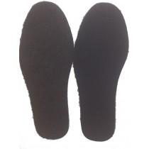 Стельки Мех на кожкартоне, черные (размеры 40-44)