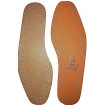 Стельки кожаные MDDRI COMFORT, р-ры 36-48 (коричневые)