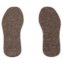Стельки войлочные, размеры 38-48 (толщина 7 мм)