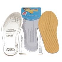 Стельки Антибактериальные универсальные (латекс+тканевое покрытие) SD-115