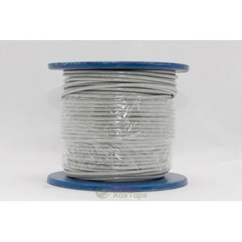 Трос стальной в оплетке ПВХ 2-3мм