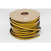 Уплотнитель резиновый профильный D-образный 21*15мм
