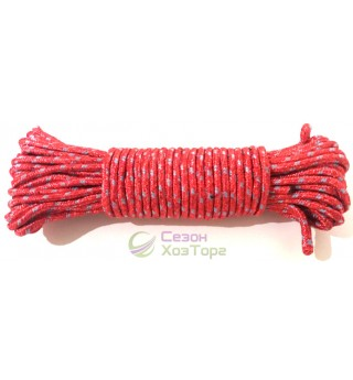 Шнур 2хцветный полиамидный с сердечником 4мм/15м (SD4-8)