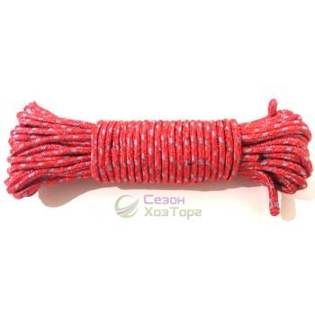 Шнур 2хцветный полиамидный с сердечником 5мм/15м (SD4-9)